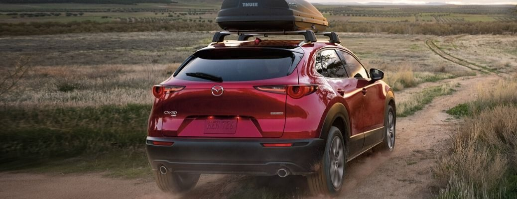 2020 Mazda CX-30 Driving on dirt roads