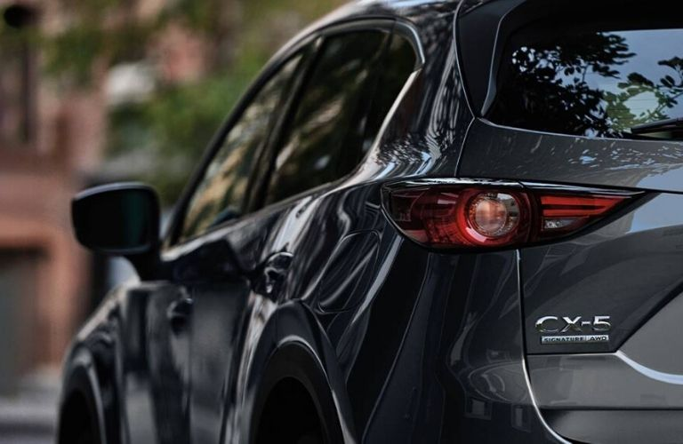 2020 Mazda CX-5 rear bumper view