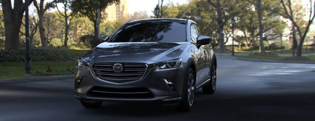 2020 Mazda CX-3 represented by 2019 Model parked outside