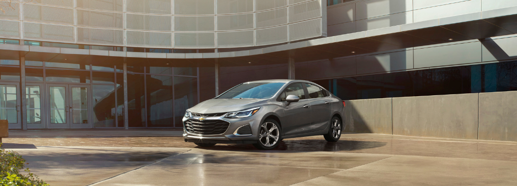 2019 Chevrolet Cruze parked outside