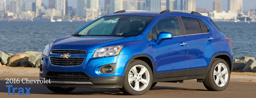 2016 Chevy Trax color blue