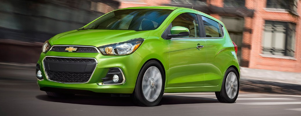 2016 Chevy Spark color lime green
