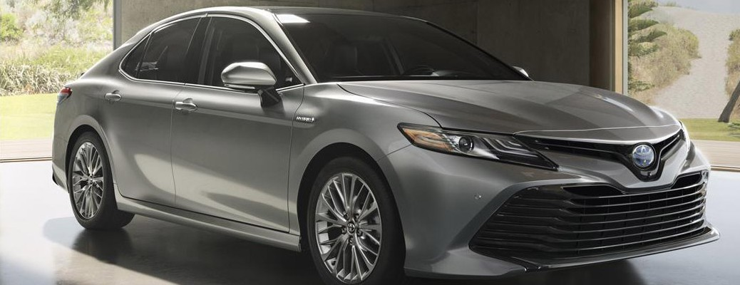 2019 Toyota Camry color silver