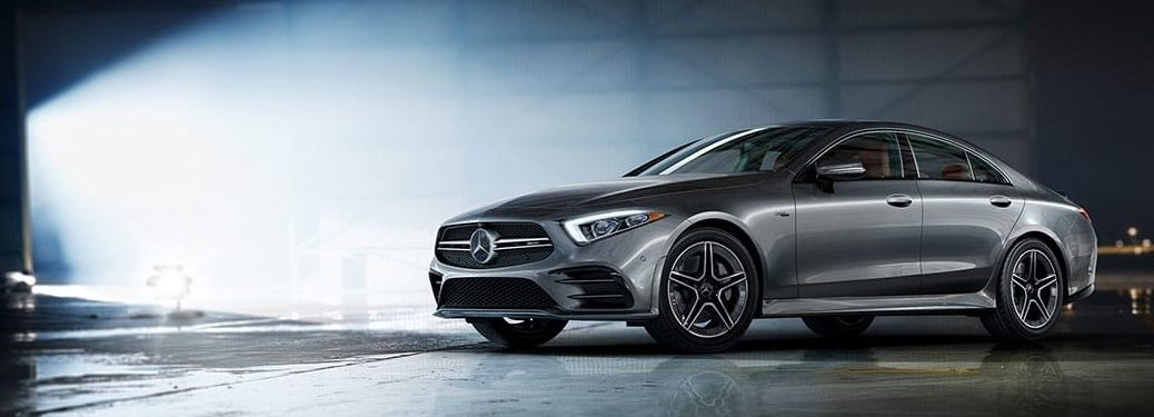 2019 Mercedes-Benz AMG® CLS Coupe silver side view
