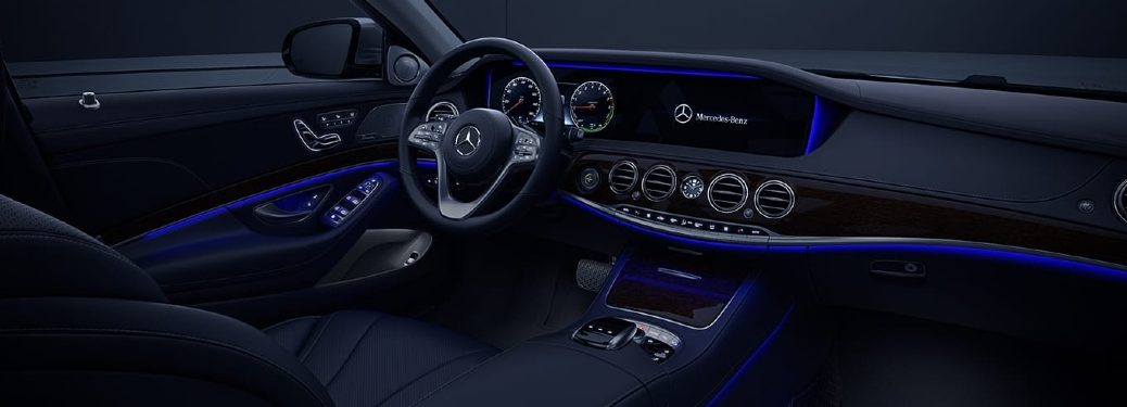 mercedes-benz interior ambient lighting