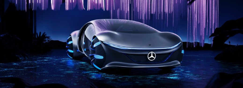 front view of mercedes-benz vision avtr