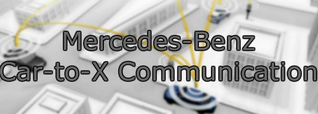 Mercedes-Benz Car-to-X Communication image