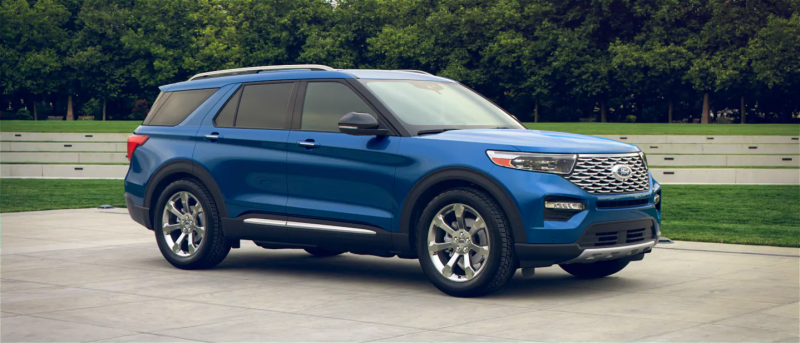 2020 Ford Explorer Atlas Blue