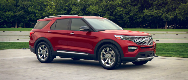 2020 Ford Explorer Rapid Red Metallic