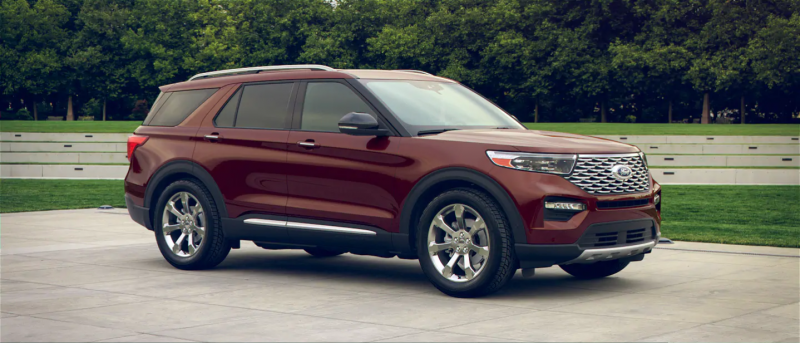 2020 Ford Explorer Rich Copper Metallic