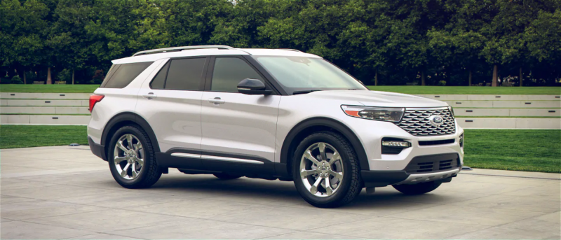 2020 Ford Explorer Star White Metallic