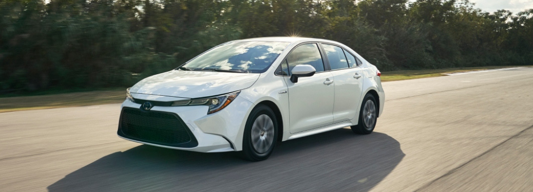 2020 Toyota Corolla exterior front