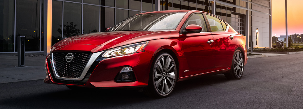 2019 Nissan Altima driving in city