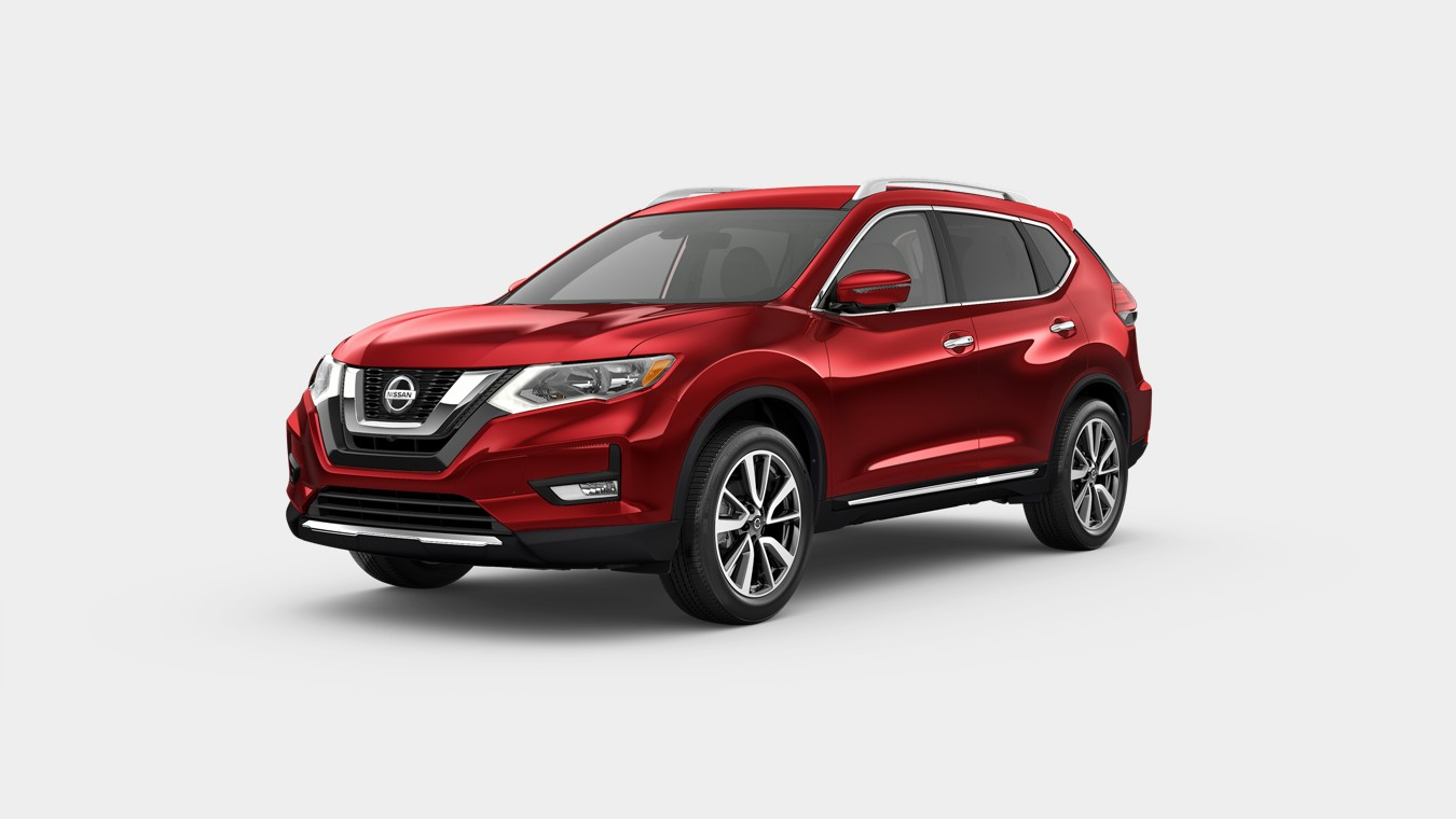 2020 Nissan Rogue in Scarlet Ember Tintcoat