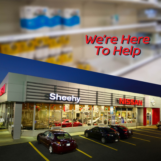 Sheehy Nissan of Glen Burnie is giving away free toilet paper.