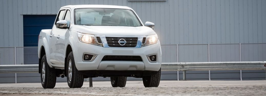 2020 Nissan Frontier driving down road