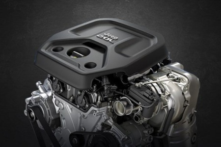 2.0-liter engine of the Jeep Wrangler