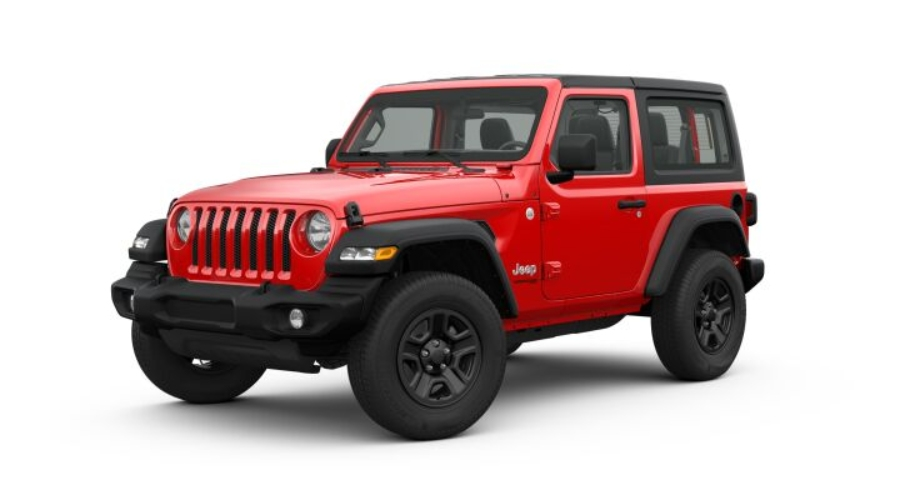 Color Options For The 2019 Jeep Wrangler