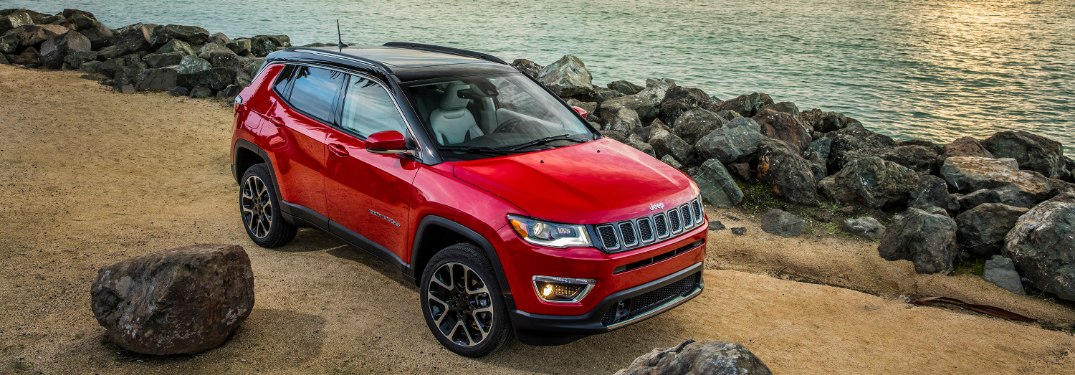 What are the Passenger and Cargo Space Measurements for the 2020 Jeep Compass at Deacons CDJR near Cleveland OH?