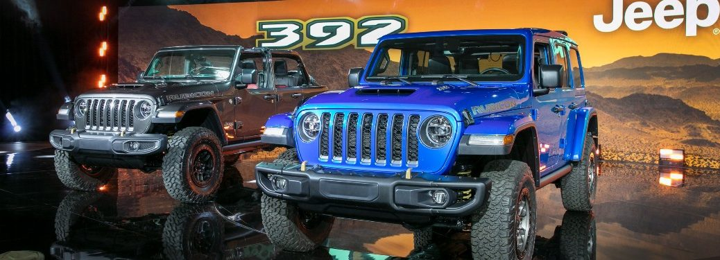 two 2021 Jeep Wrangler models
