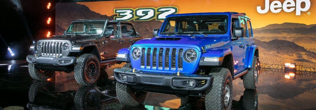 Introducing the 2021 Jeep Wrangler Rubicon 392 Here at Deacons CDJR near Cleveland OH