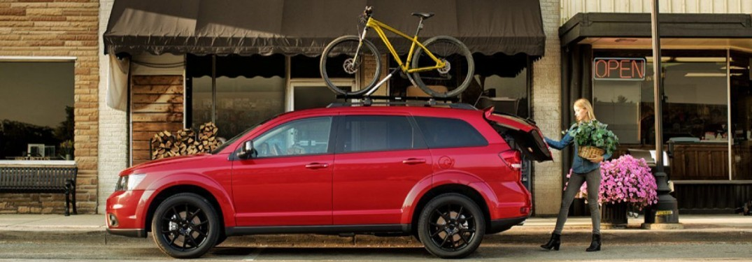 Interior Features and Cargo Space in the 2019 Dodge Journey