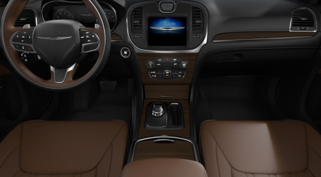 Deep Mocha interior in the 2019 Chrysler 300