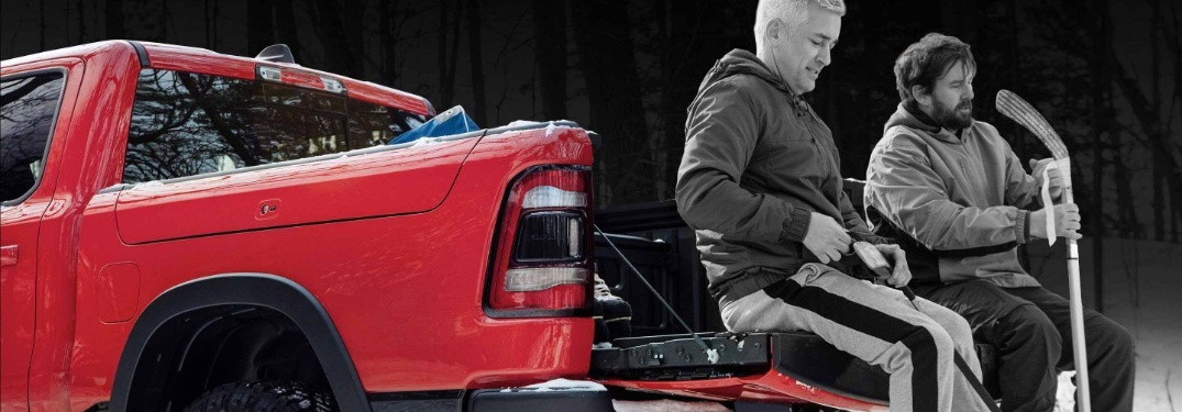 Check Out the Ram 1500's Multifunction Tailgate Capabilities