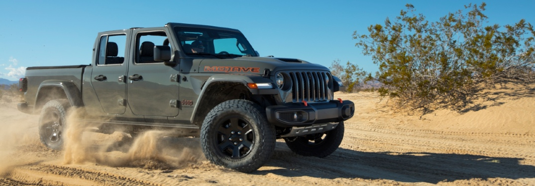Check Out the Mojave Variant of the Jeep Gladiator