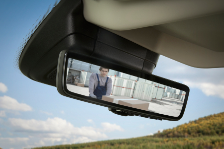 promaster rearview camera video