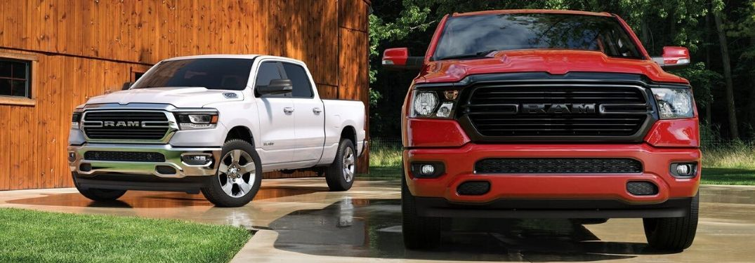 How Many Color Options Are Available for the 2020 Ram 1500?