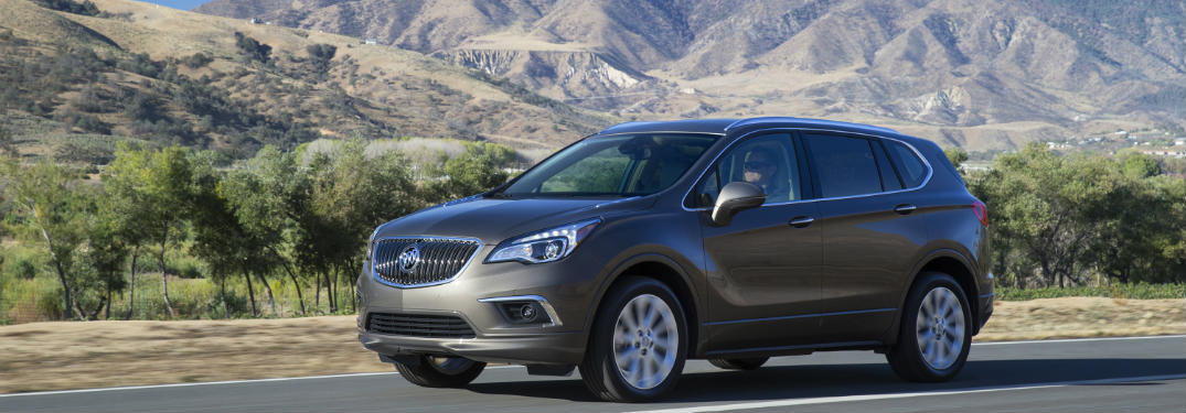 2016 Buick Envision Makes Its Canadian Debut with New Technology Features