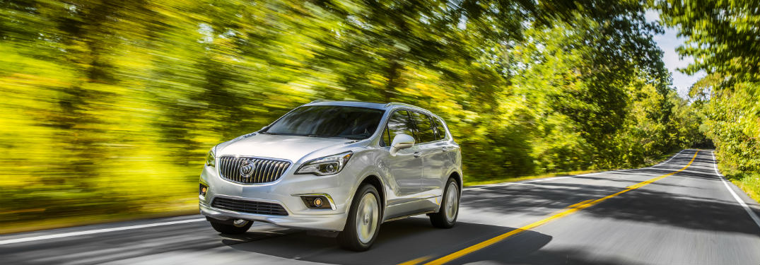 Safety Honor Extended to 2017 Buick Envision