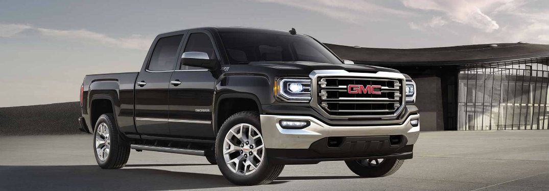 2018 GMC Sierra 1500 Colour Options and Standard Features