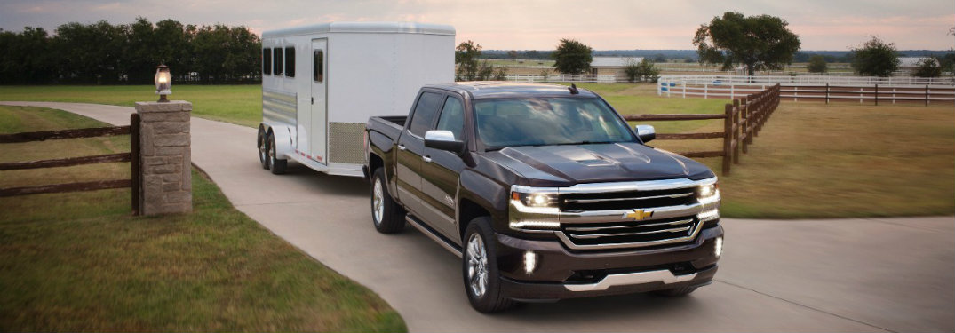 Chevy Silverado Towing Capacity >> How Much Can The 2017 Chevy Silverado Tow