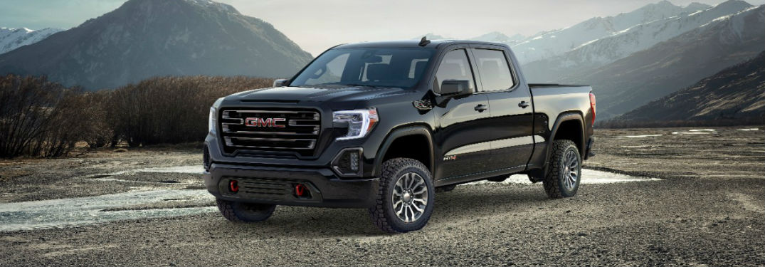 2019 GMC Sierra AT4 Features and Sound System