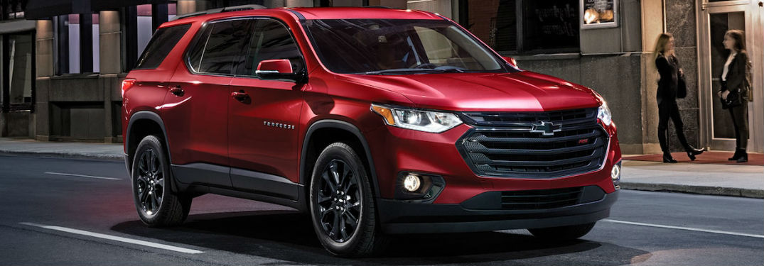 2019 Chevy Traverse Cabin Dimensions and Cargo Volume