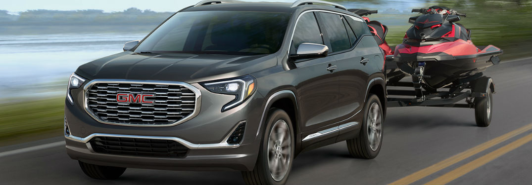 2019 GMC Terrain Engine Specs and Towing Capacity