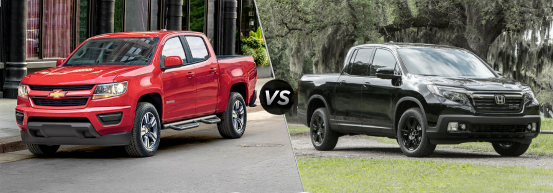 How Does Honda's Unique Ridgeline Stack Up Against Chevrolet's Mid-Size Colorado?