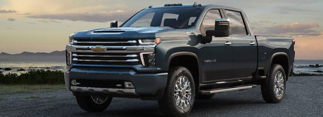 2020 Chevy Silverado HD in gray