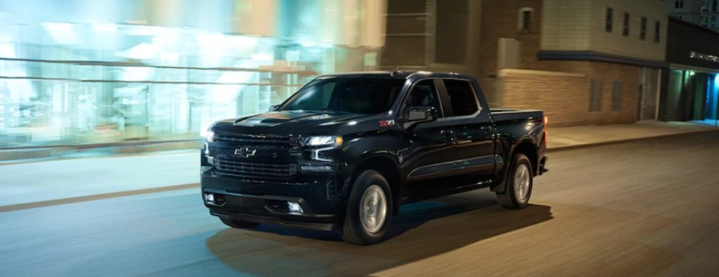 Black 2019 Chevy Silverado with Z71 Off-Road package
