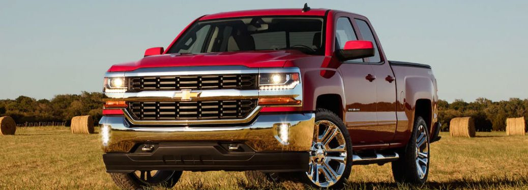 2019 Chevy Silverado 1500 LD in red
