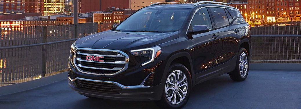 2020 GMC Terrain in black