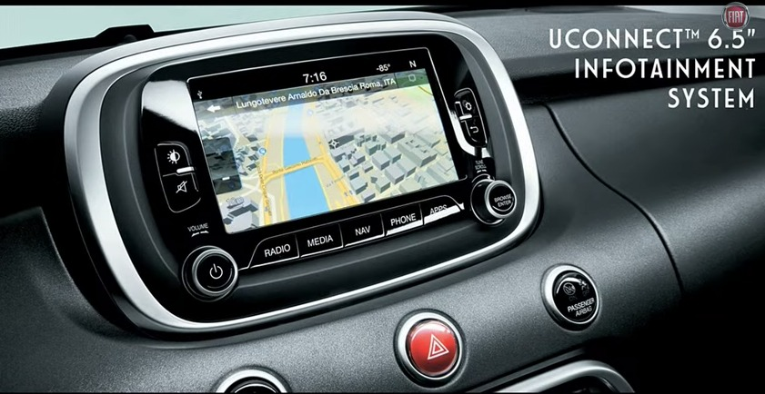"""The 6.5"""" UConnect Infotainment System"""