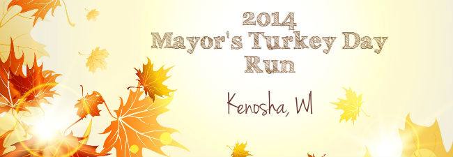Mayor's Turkey Day Run Kenosha WI 2014