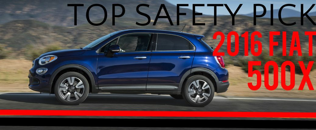 2016 Fiat 500X Safety Ratings IIHS