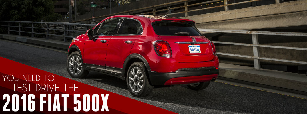 3 Reasons to Test Drive the 2016 Fiat 500X