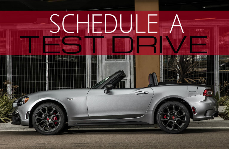 test drive 2017 Fiat 124 Spider Milwaukee WI