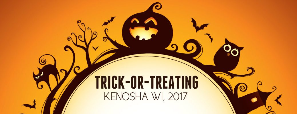 trick or treating times 2016 Kenosha Wisconsin