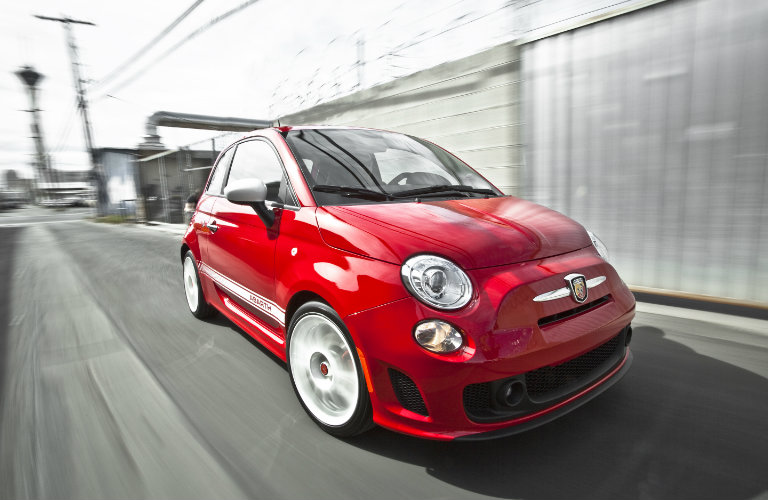 2017 Fiat 500 Abarth Red Paint